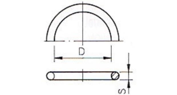 Uszczelka o ring 20,22x3,53 do zl.20mm