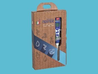 Miernik pH/EC wodoodporny + płyny do kalibracji (PC5)