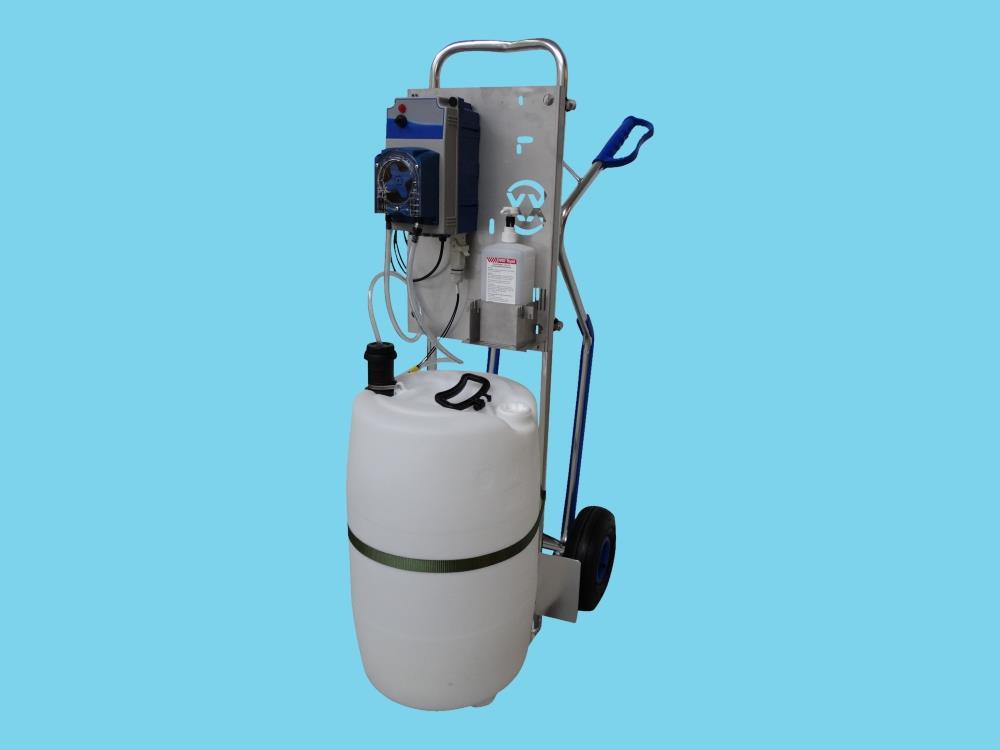 Flexxotrolley-moblina pompa do napełniania mat (Flexxopump)