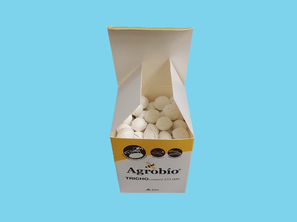 TRICHOcontrol (Trichogramma achaeae) kulki 125x2200 (AB7)