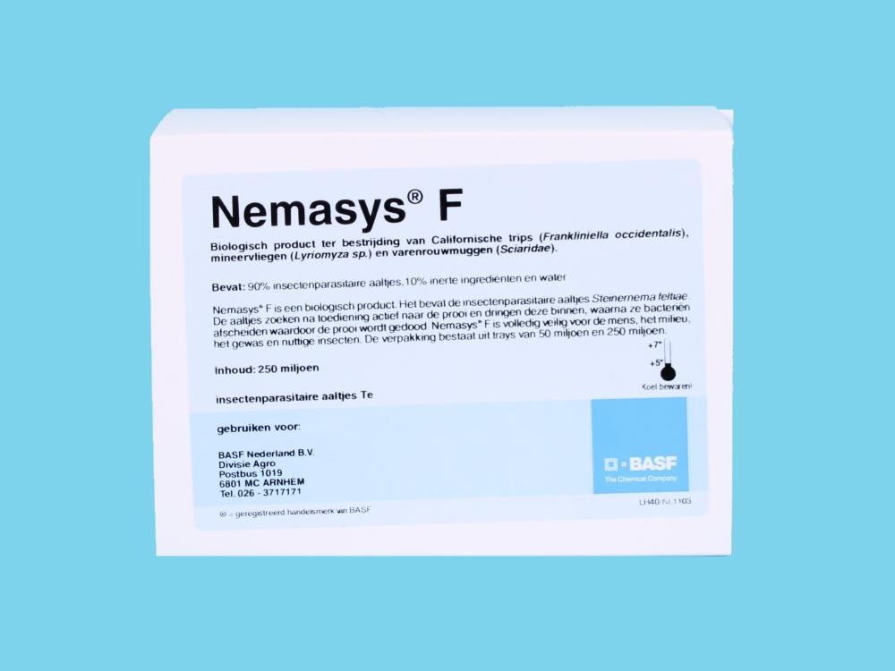 Nemasys F (na szkodniki szklarniowe) 250 mln