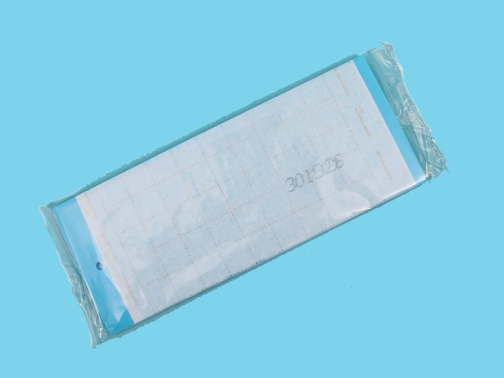 Tablica klej sygnalizacyjna niebieska [10x25cm] 10 szt.