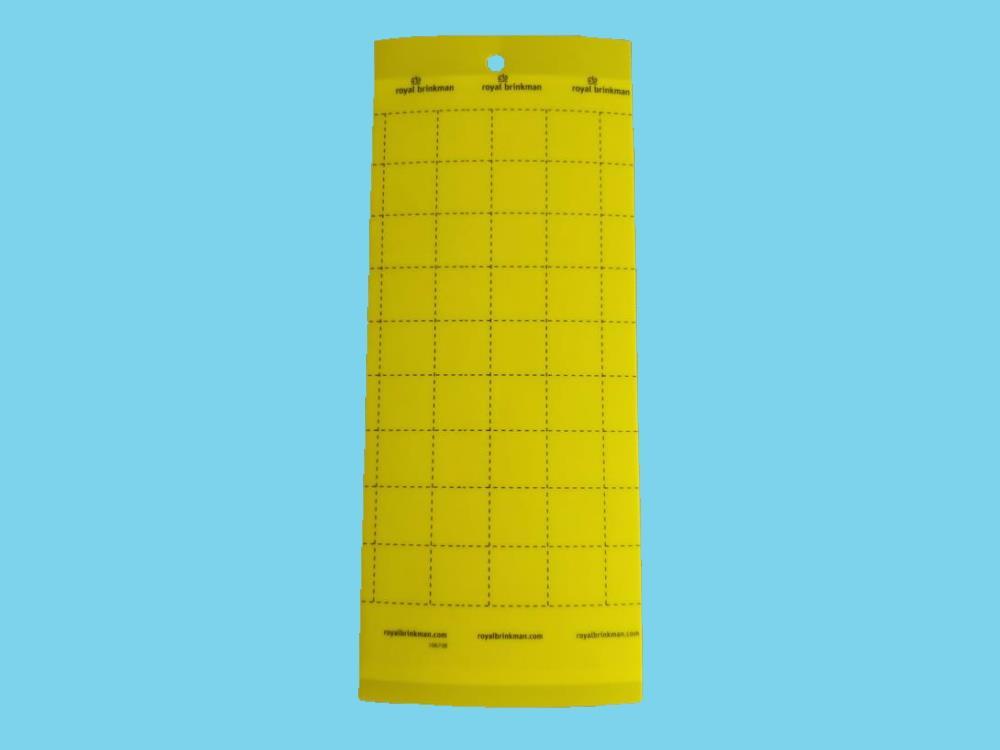 Tablica klej sygnalizacyjna żółta [10x25cm] 10 szt.