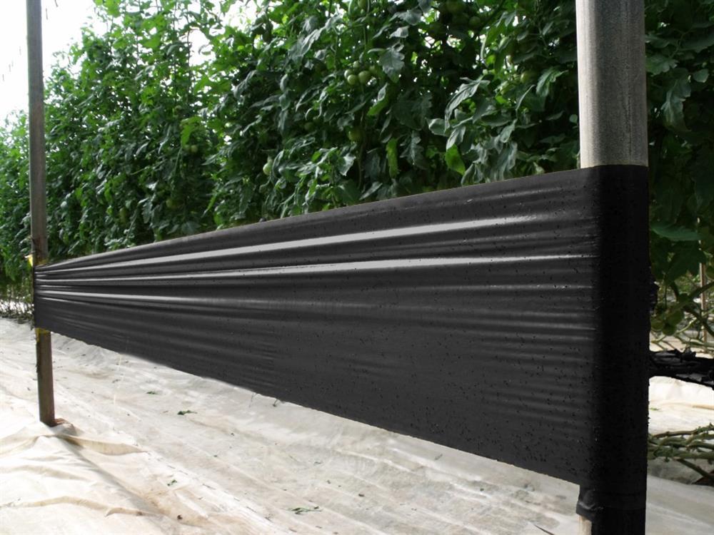 Taśma sygnalizacyjna czarna 100m x 30cm (Tuta)