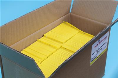 Tablica klej sygnalizacyjna żółta [10x25cm] 1000szt