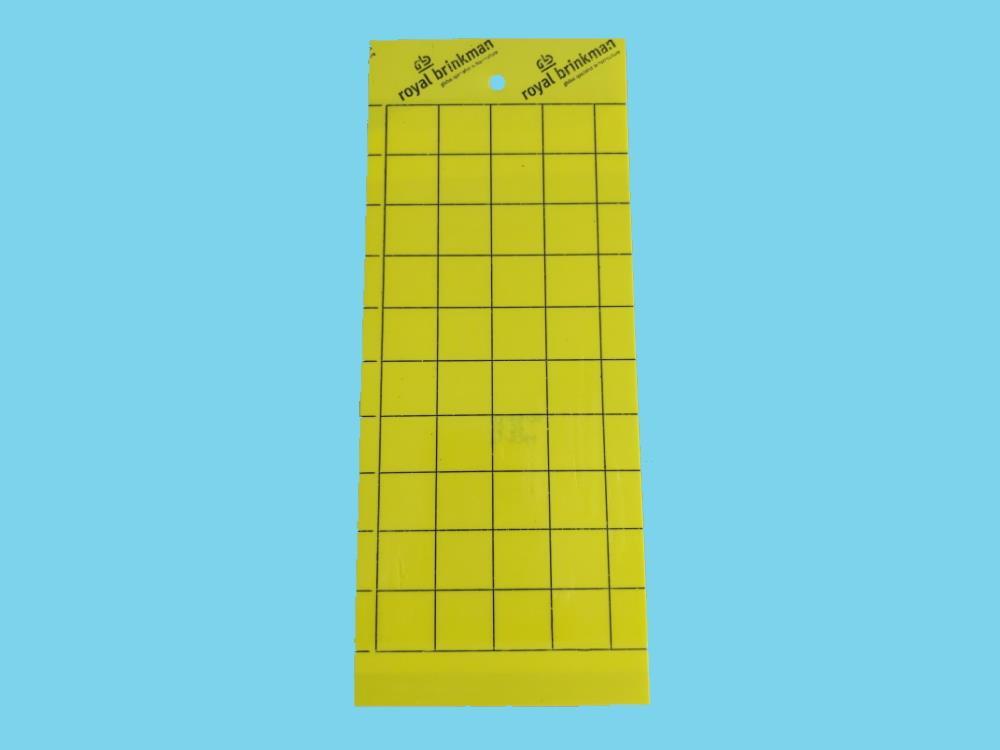 Tablica klej sygnalizacyjna żółta [10x25cm] 10 szt. +druciki
