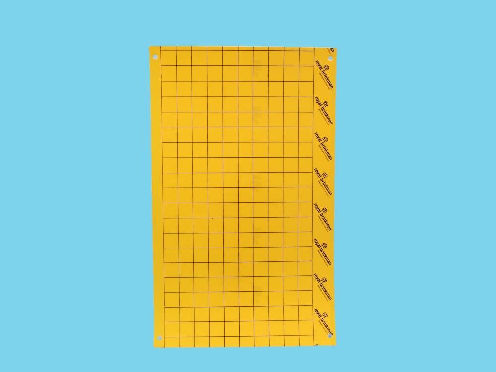 Tablica klej sygnalizacyjna żółta [40x25cm] 250szt