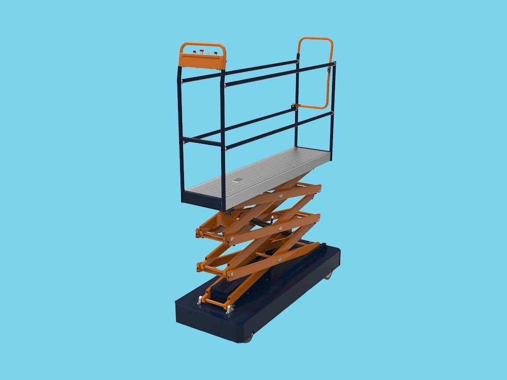 (Berg) Wózek trójnożycowy BENOMIC STAR.  wys. 440 cm