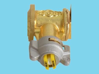 Głowica dyszy prawa, komplet z dyszą żółtą TP8002VK