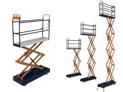 (Berg) Wózek dwunożycowy BENOMIC STAR, wys. 300 cm