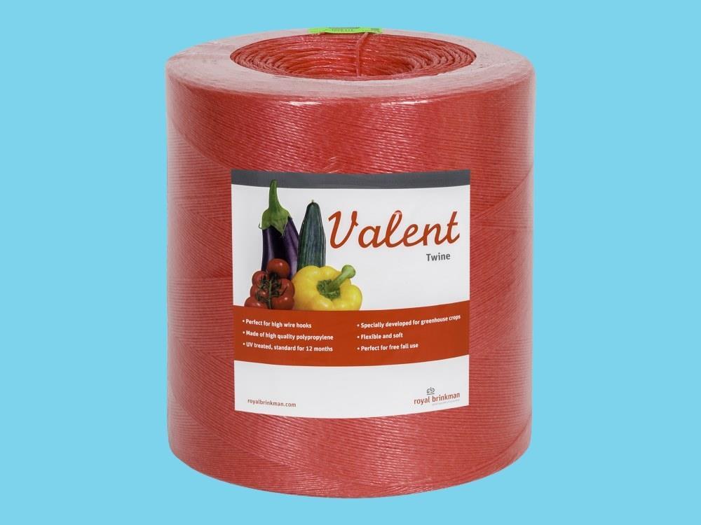 Sznurek valent 1/1500 6kg czerwony