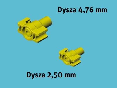 Zraszacz obrotowy D-NET 9575 1800 L/H 4.76+2.5