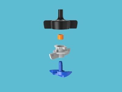 Mikrozraszacz SpinNet 120L/H 30CM