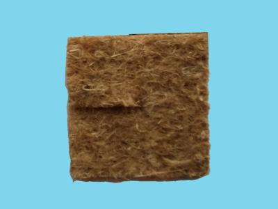Dysk kokosowy do ściół. kwadratowy 132x132 mm AW-DISK 1840