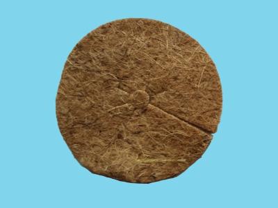 Dysk kokosowy do ściółkowania okrągły 140 mm AW-DISK 1860