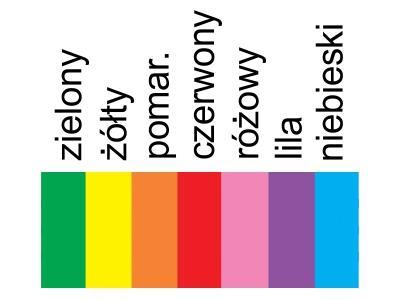 Etykiety TT, wtykane KOLOROWE [2.5x10 cm 2000 szt.]