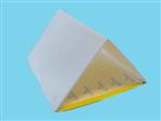 Tablica sygnal. żółta 40x25cm/perf.: 2x 20x25cm (AB) 50 szt