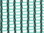 Siatka p.wiatr. zielona 2,9x1,6mm, 105g/m2, 2x100m