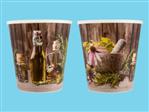 Doniczki osłonki TEKU MDF 14 Herbs 14.1 SPU (308)