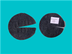 Krążek filcowy ściółkujący na doniczkę 15cm, szary, 700g/m2