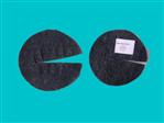 Krążek filcowy ściółkujący na doniczkę 17cm, szary, 700g/m2