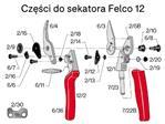 Ostrza do sekatora Felco 6/3 EU do modeli 6, 12