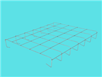 Kratownica szkół V (AluZink) 5L 6x5 1,23x1,02m