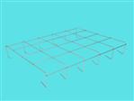 Kratownica szkół V (AluZink) 7,5L 5x4 1,17x0,93m