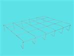 Kratownica szkół V (AluZink) 10L 5x4 1,29x1,03m