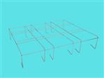 Kratownica szkół V (AluZink) 12-15L 3x3 1,13x1,03m